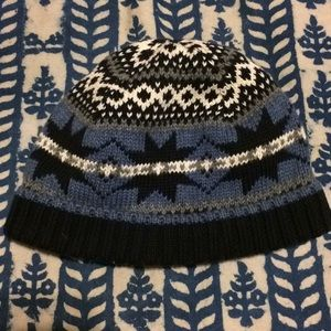 Janie and Jack Toddler (2T-3T) Blue Knit Beanie